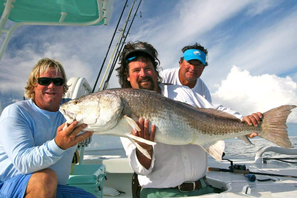 Inshore light tackle fishing Red Drum